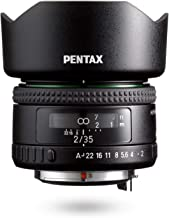 HD PENTAX-FA35mmF2 Versatile Wide-Angle Lens Latest HD Coating minimizes Flare and Ghost SP Coating to Repel Stains New Exterior Design Hybrid aspherical Lens for Extra-Clear, high-Contrast Images