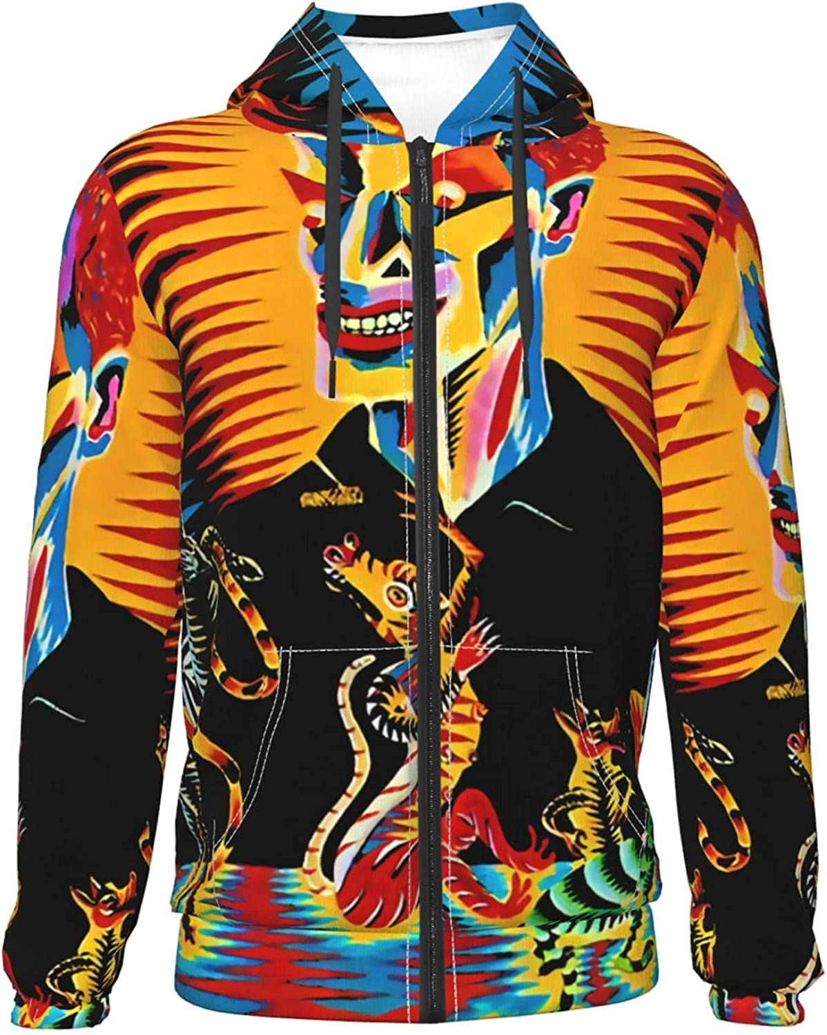 Oingo Boingo Fashion Teenager Zipper Pul Fort Cheap super special price Worth Mall Coat Jacket Warm Hoodie