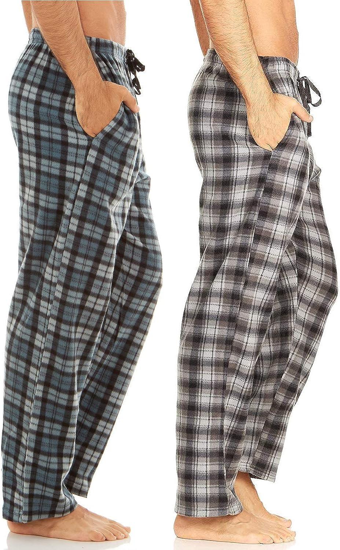 情熱セール DARESAY Multipack of Men's Microfleece Pajama Lounge Wear 返品交換不可 Pants