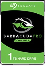 Seagate BarraCuda Pro 1TB Internal Hard Drive Performance HDD – 2.5 Inch SATA 6 Gb/s 7200 RPM 128MB Cache for Computer Desktop PC Laptop, Data Recovery – Frustration Free Packaging (ST1000LM049)