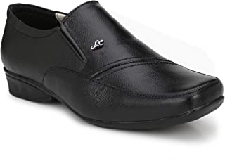 Stylelure Leather Black Formal Shoes for Men/Best for Office Use