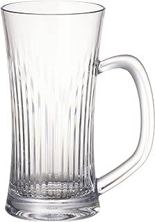 ビールジョッキ ジョッキグラス ビアジョッキ クリア 透明 400ml 食洗機対応 キャンプ向け 耐熱100度 グランピング トライタン素材 日本製 石川樹脂工業