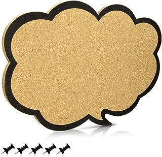Navaris tablero de corcho con forma de nube - Pizarra de