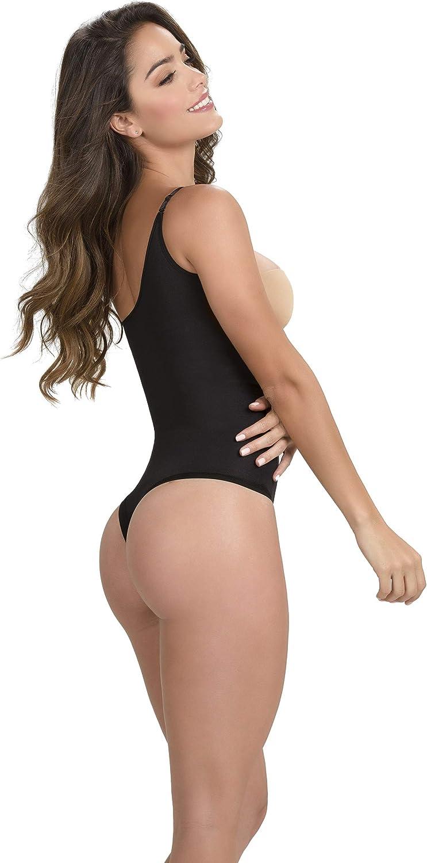 Premium Colombian Shapewear Faja Body Shapers Thong Thermal U Back Bottoms Firm-Control Shapewear