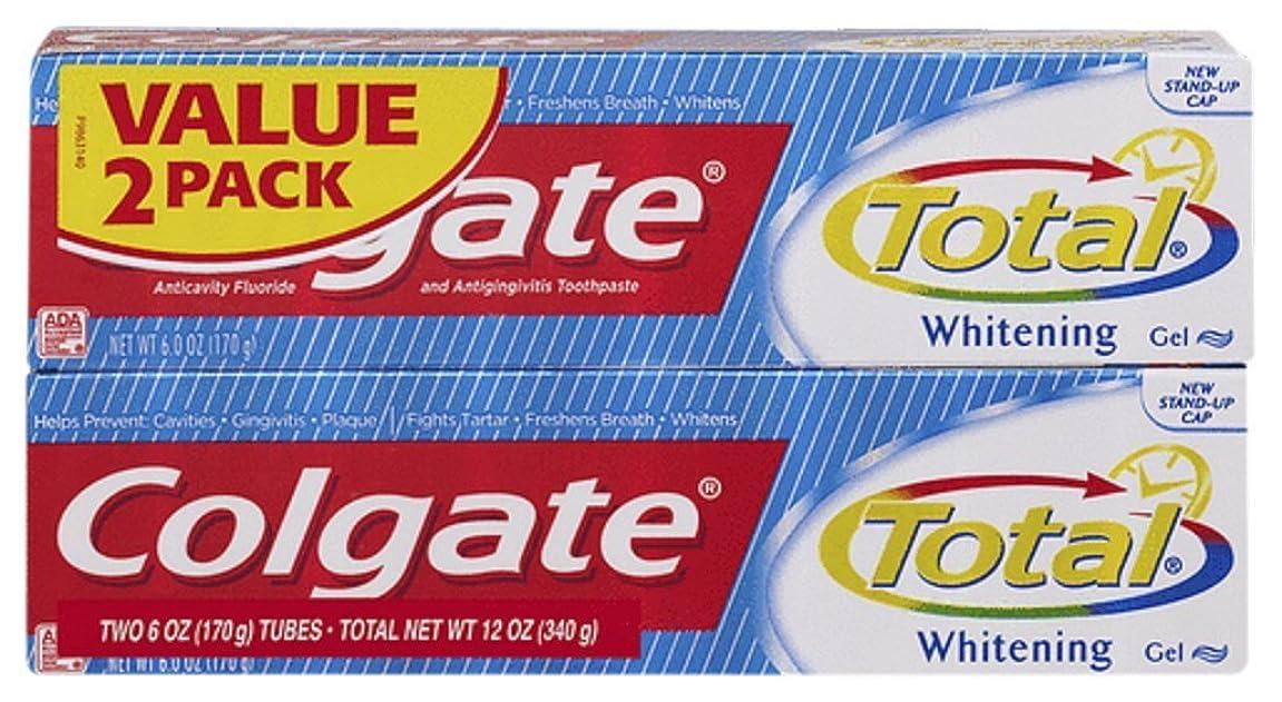 接尾辞ソート手数料Colgate 練り歯磨き、虫歯予防フッ化Antigingivitis、ホワイトニング、ゲル、値2パック12オンス(8パック)