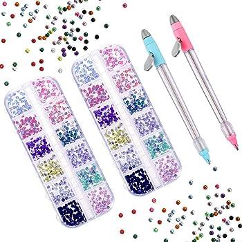 DIY 5D Round Diamond Point Drill Pen Painting Cross Stitch Crafts Tool Hot New