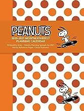 Peanuts 2020-2021 Monthly/Weekly Planning Calendar PDF