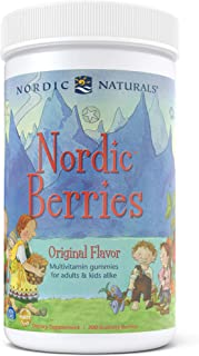 Nordic Naturals - Nordic Berries, Multivitamin Treats for Adults and Kids, 200 Count (FFP)
