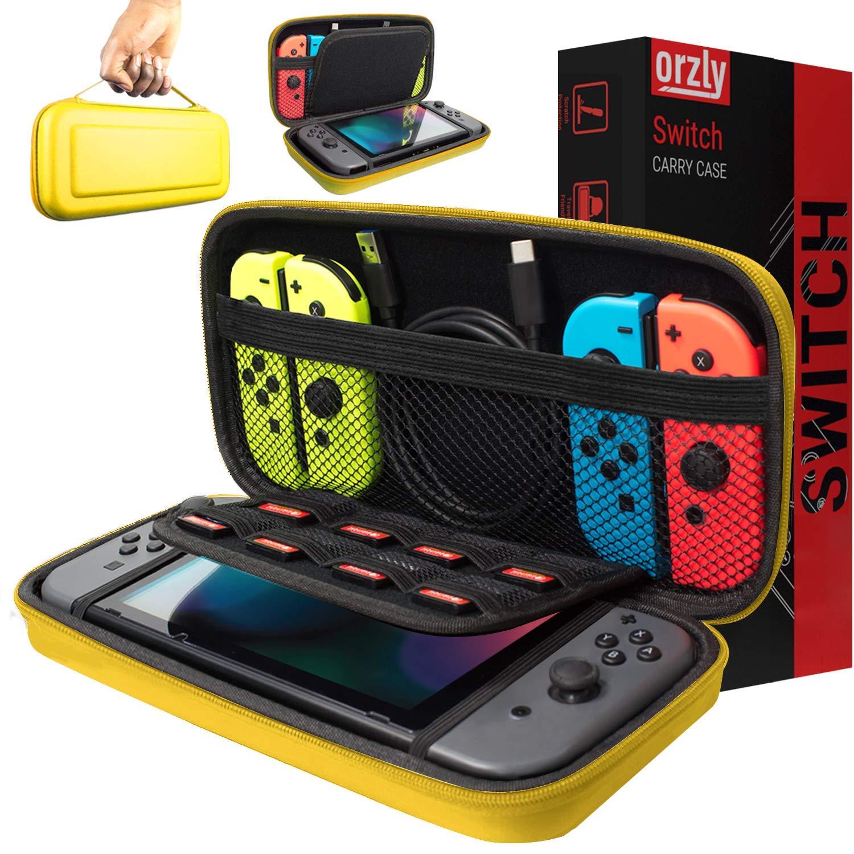 Funda de Orzly para Transportar la Nintendo Switch – Amarillo ...