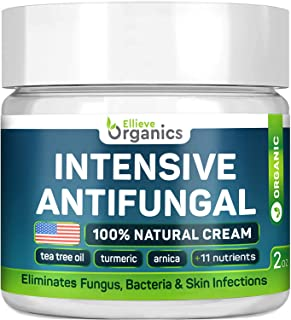 Antifungal Cream - Extra Strength - Made in USA - Effective Toenail Fungus Treatment and Ringworm Treatment for Humans - C...