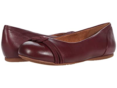 SoftWalk Sonoma Knot (Wine Leather) Women