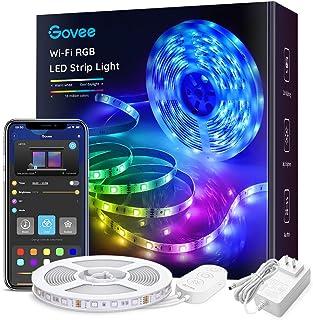 Govee Smart WiFi LED Strip Lights Works with Alexa,...
