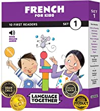 French for Kids: 10 First Reader Books with Online Audio and 100 Vocabulary Words (Beginning to Learn French) Set 1 by Lan...