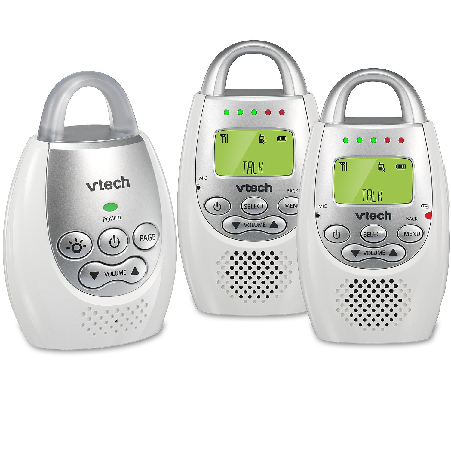 VTech DM221 2 Vibrating Sound Alert Intercom