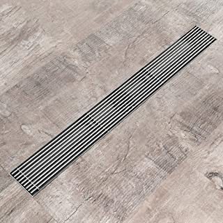 Brushed Square Floor Drain Bath Water Odorless Drainage Wire Balcony Drain Balcony Outlet