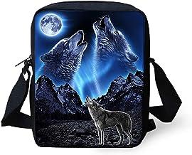 COEQINE Floral Skull Print Sling Bags for Women Crossbody Backpack Travel Multipurpose Daypacks Shoulder Bag