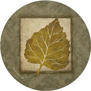 Thirstystone Stoneware Coaster Set, Aspen Leaf