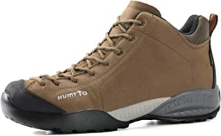 Men high Hiking Boots -Athletic Trail Trekking Outdoor Working Waterproof Breathable Sneakers Backpacking Boot Walking Backpacking Suede Leater