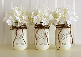 mason jar centerpieces for baptism