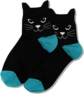 Hot Sox womens Cat Lover Novelty Casual Crew Socks
