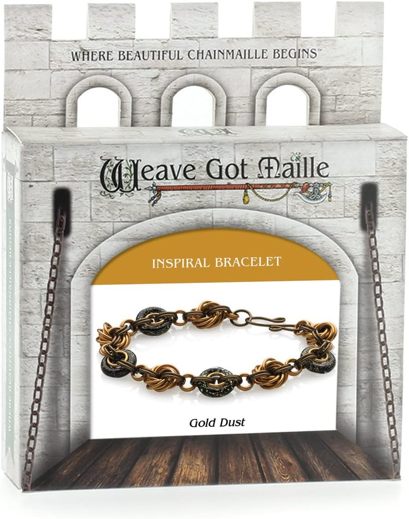 Weave Got Maille Inspiral Chain Max 86% OFF Gold Dust Kit Max 57% OFF Bracelet