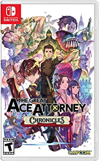 The Great Ace Attorney Chronicles - Nintendo Switch Games and Software