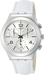 Biancamente Men'S Leather Strap Watch Ycs111