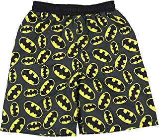 Fashion Toddler Boys DC Comics Batman Logos Swim Short Trunk