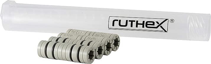 4x ruthex RJ4JR-03-08 (rodamiento flotante) y 4x igus RJ4JP-01-08 (rodamiento fijo) en lugar del rodamiento LM8UU para impresora 3D | RepRap | Prusa i3 | Anet A8 | Anycubic i3 Mega