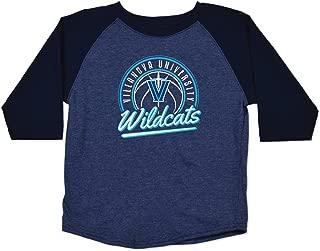 College Kids NCAA Villanova Wildcats Toddler Raglan Basketball Tee, 3T, Navy