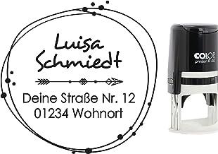 Stempel mit Kissen /« SCHACHBRETT /» Adressenstempel Firmenstempel Sportverein Schach