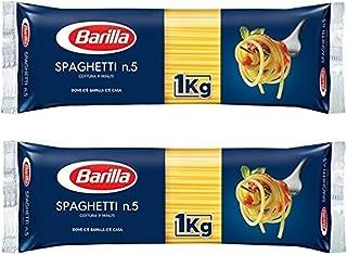 バリラ スパゲッティ 1.8mm (No.5) [正規輸入品] 1kg × 2袋