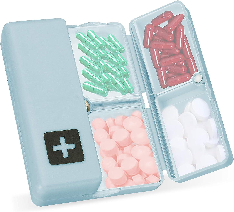 Skycase Pill Organizer shipfree Daily Box Indefinitely with 7 Fol Case Days