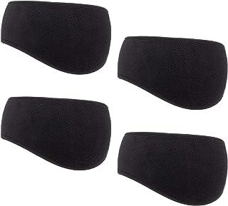 50b12985da0 Cosweet 4pcs Ear Warmer Headband Winter Fleece Ear Flaps for Men Women  Suitable for Outdoor Sports