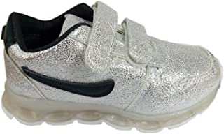 Air Zone Clothing Chinese Leather Silver Color Kids Casual Shoes