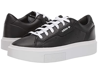 adidas Originals Sleek Super (Core Black/Core Black/Footwear White) Women