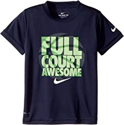 Nike Kids - Full Court Awesome Dri-FIT Tee (Little Kids)
