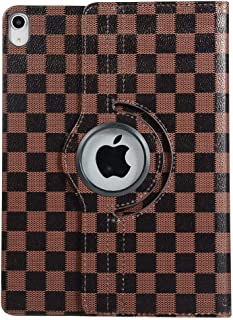 iPad Pro 11 Case inShang 11-inch Checker Damier 360 Degree Rotating Smart Cover case for iPad Pro 11 (2018)