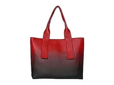 Vince Camuto Dee Tote (Chili Pepper) Handbags