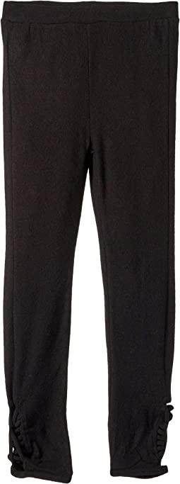 Extra Soft Love Knit Strappy Side Detail Leggings (Big Kids)