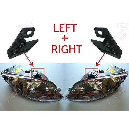 EHL43 Headlight Repair Kit for F.o.r.d Fiesta 2008-2013 Left Side
