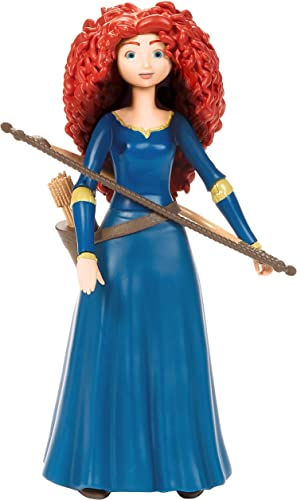 Disney Pixar Brave Merida Action Figure Movie Character Toy 6.6-in Tall Highly Posable in Authentic Costume with Bow & Arrow Gift for Ages 3 Years Old & Up