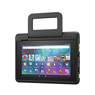 Amazon Kid-Proof Case for Fire 7 tablet | Only compatible with 9th generation tablet (2019 release), Black