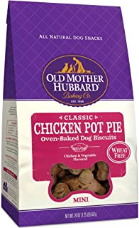 Old Mother Hubbard Mini Classic Chicken Pot Pie Biscuits Baked Dog Treats