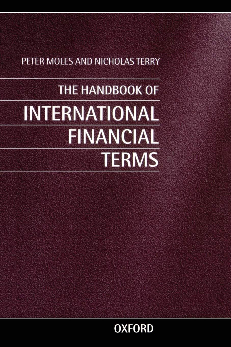 Download The Handbook Of International Financial Terms 