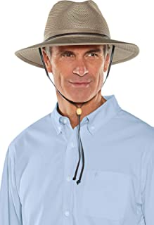 Coolibar UPF 50+ Men's Crushable Ventilated Hat - Sun Protective