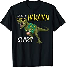 t rex hawaiian shirt