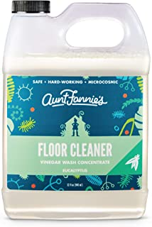 Aunt Fannies Vinegar Wash Floor Cleaner Eucalyptus, 32 oz