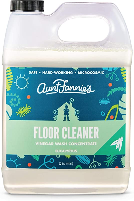 Aunt Fannies Vinegar Wash Floor Cleaner Eucalyptus 32 Oz