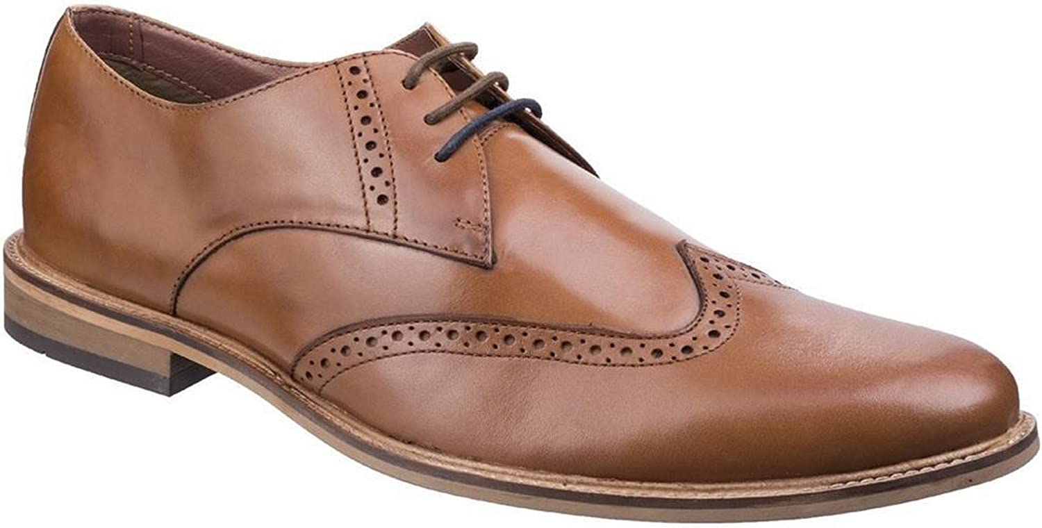 Lambretta Mens Franky King Lace Up Leather Brogues